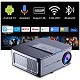 Proyector Android TV10 340ANSI,Artlii Play3,Proyector 4K WiFi Bluetooth 1080P Nativo,Asistente de...