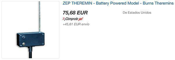 Zep Theremin